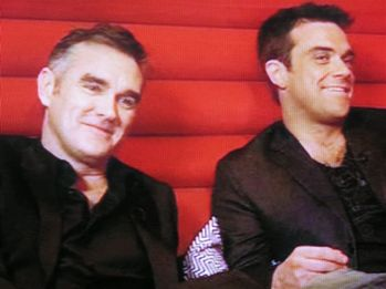 Image result for morrissey robbie williams